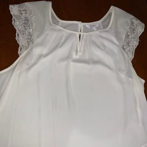 Candies brand white blouse
